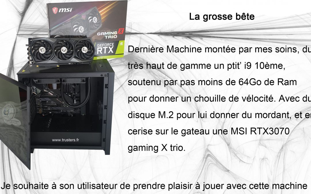 Le Top du top en PC Gaming